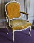 Fauteuil Louis XV estampillé Etienne MEUNIER
