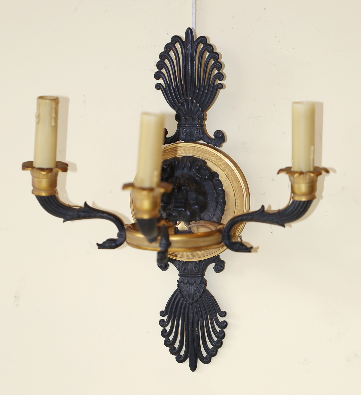4 Empire style sconces early XX