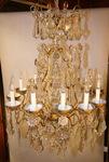 Lustre de style Louis XV fin XIXème