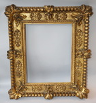 Gilt wood frame time XVIII