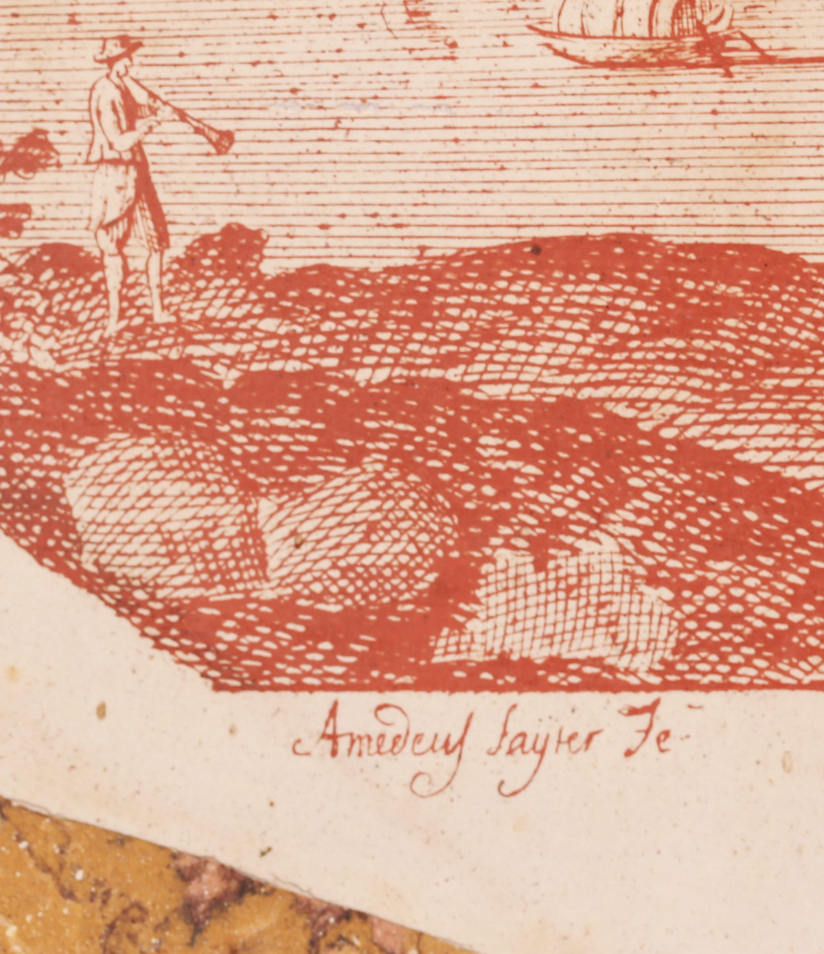Amedeus SAYTER Fecit  circa 1720