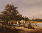 Orientalist painting LONG XIX-XX