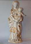 Vierge à l'enfant en bois sculpté XVIII