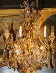 Lustre style Louis XV fin XIX ème