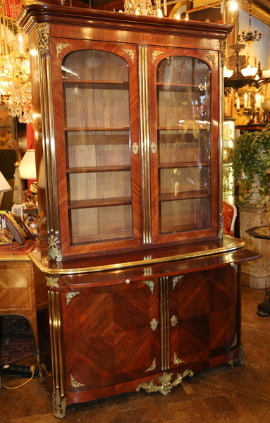 buffet 2 corps style r gence circa 1880. Black Bedroom Furniture Sets. Home Design Ideas