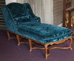 Chaise longue époque Régence