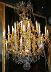 Lustre 36 lumières, style Louis XV circa 1900