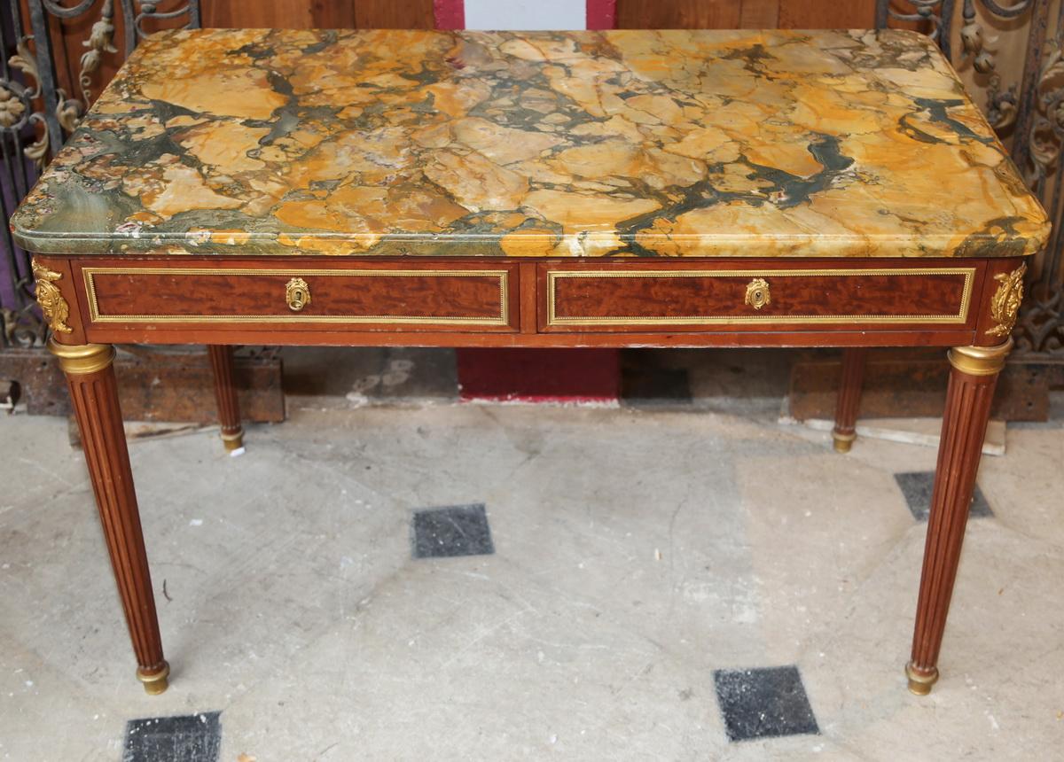 Table à thé bureau style Louis XVI circa 1880