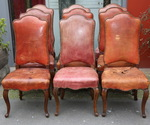 Series of dining room chairs