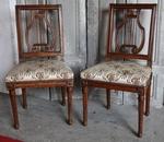 Pairs of chairs by AVISSE