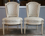 The pair of chairs 18th by Jacob