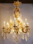 Louis XIV style chandelier ,Regency circa 1900