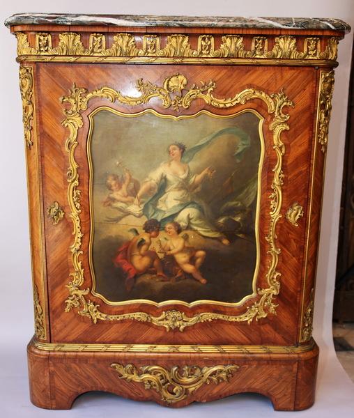 Support furniture stamped Pecquereau XIX