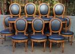 12 chaises époque Louis XVI