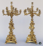 Paire de candélabres circa 1880