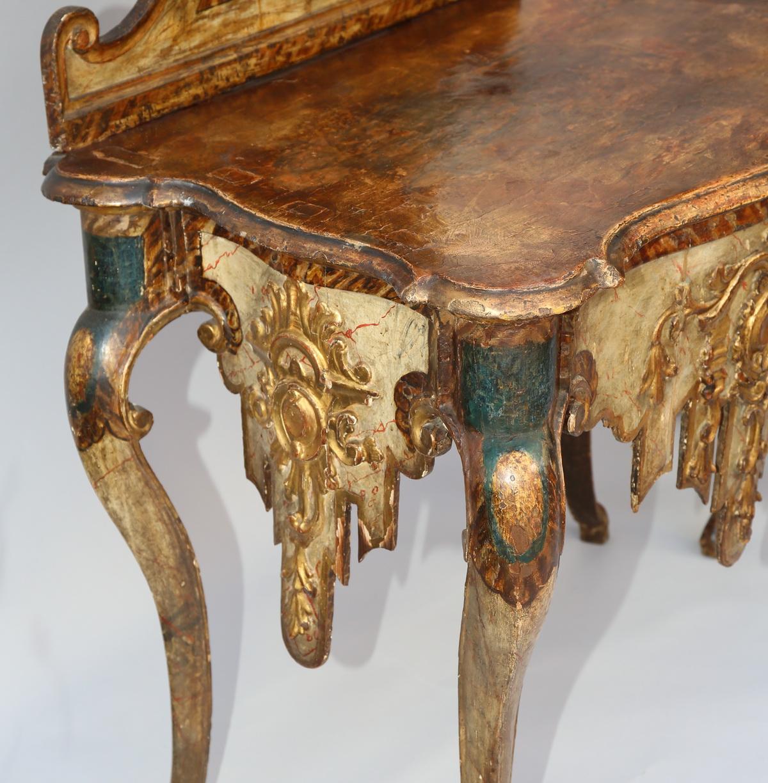 Paire de consoles d'époque XVIII