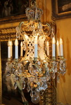 Chandelier cage style Louis XV, circa 1880