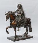 Louis XIV on horseback after Giradon