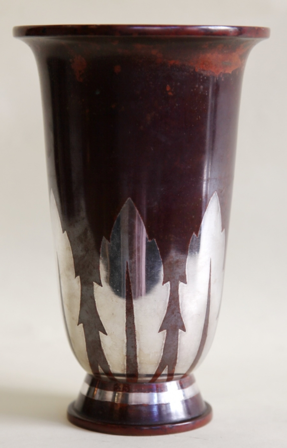 Artefact made from sheet metal Christofle