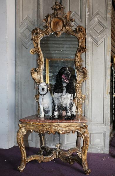 18th century transformed aparat chair