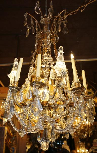 Lustre de style Louis XVI début XXème