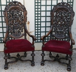 Pair of armchairs 18th and 19th