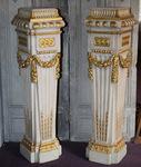 Paire de colonnes style Louis XVI