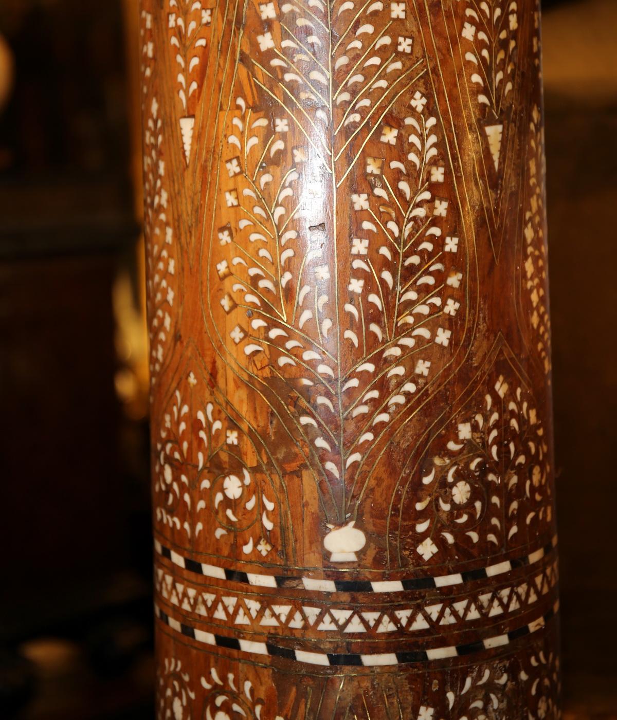 Paire de colonnes, Indes XIXème