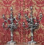 Candélabres 7 lumières circa 1880
