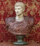 Buste d'empereur Romain