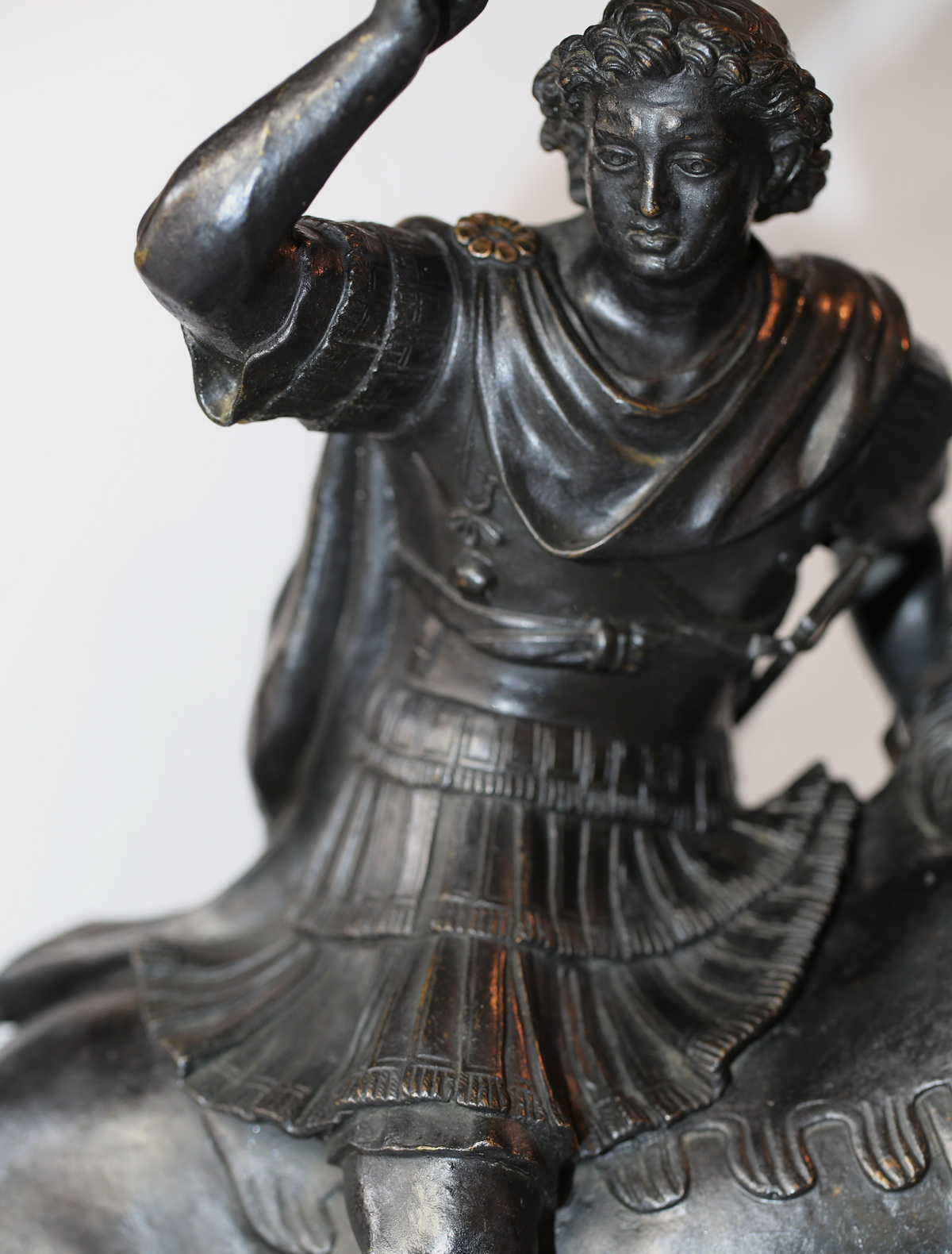 Alexandre le Grand,  bronze XIXème