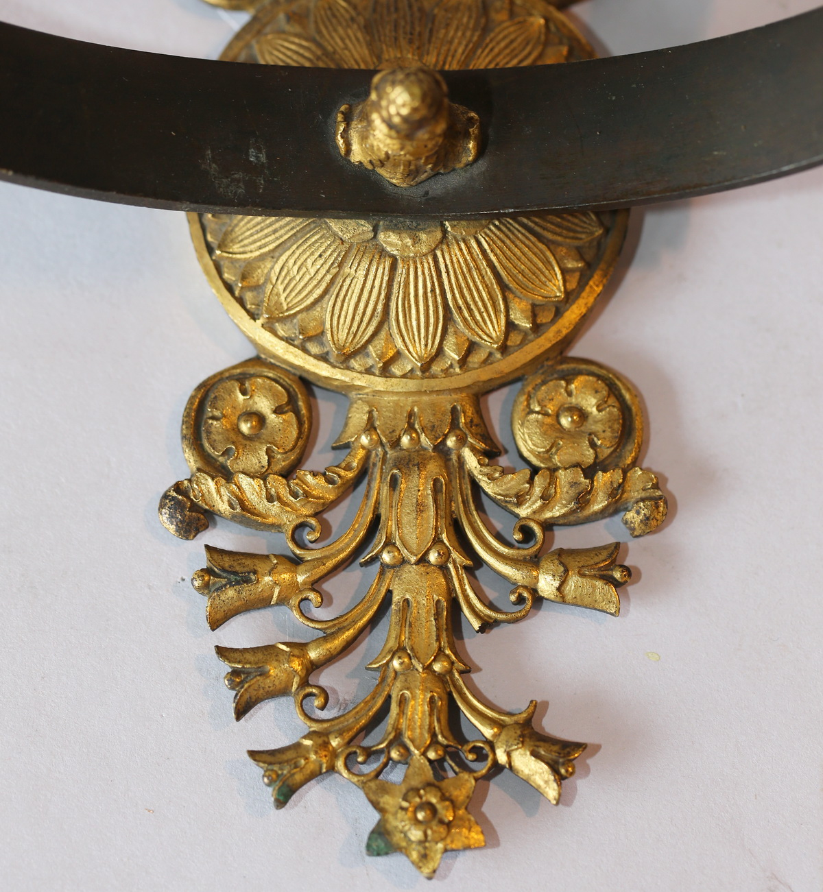 Pair of period Empire wall sconces
