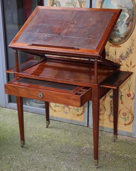Table d'architecte époque Louis XVI