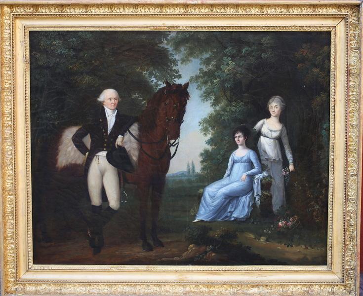 Ecole Anglaise fin du XVIIIème