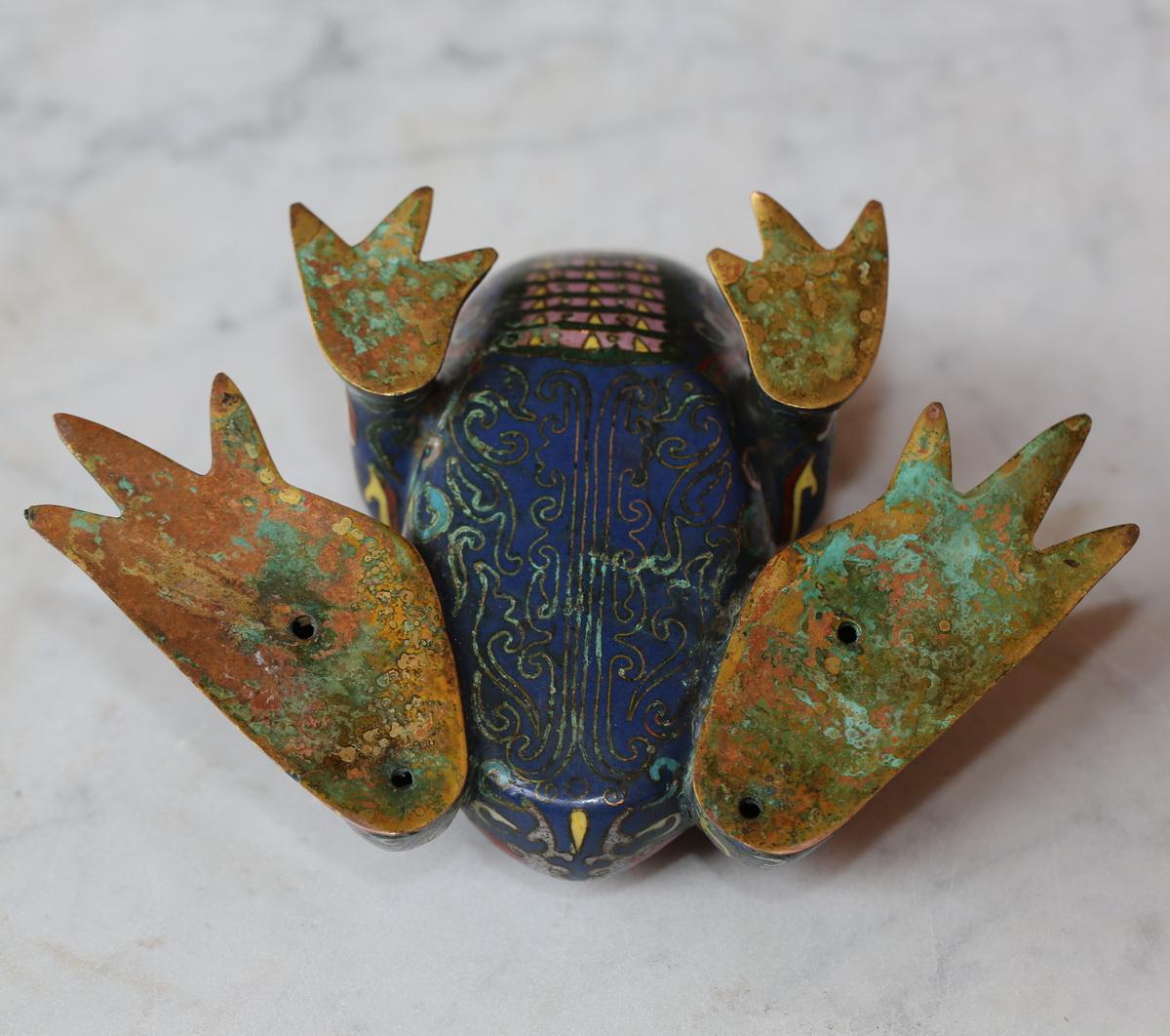 Bougeoir zoomorphe Chine XIXème