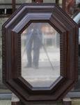 Large octagonal mirror Italy XVII