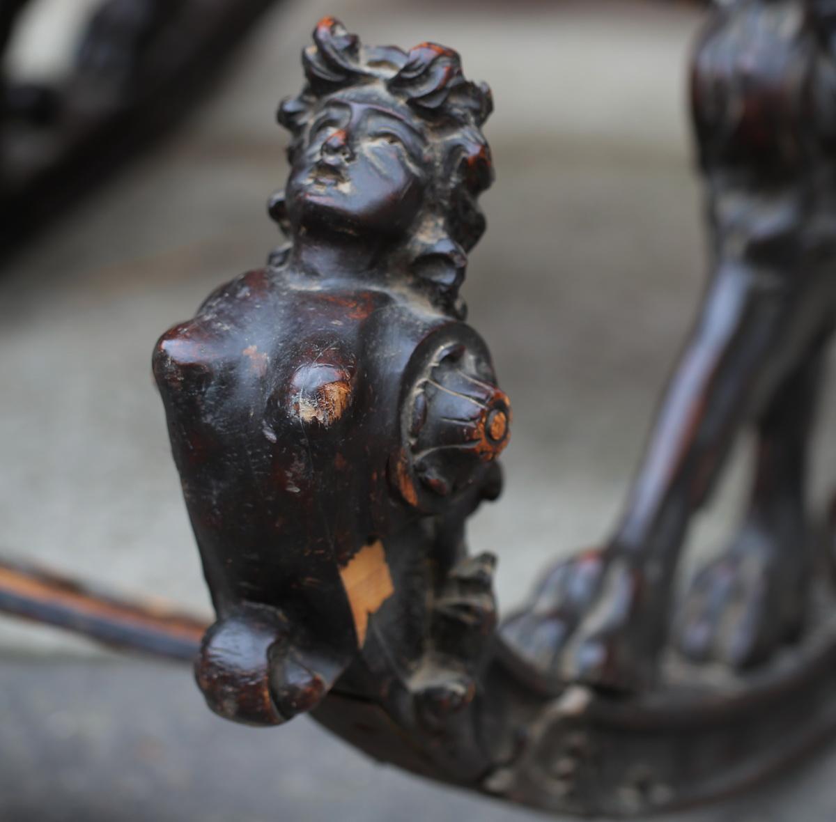 Fauteuil à bascule Venise XIXème