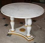Pedestal table Empire style circa 1900