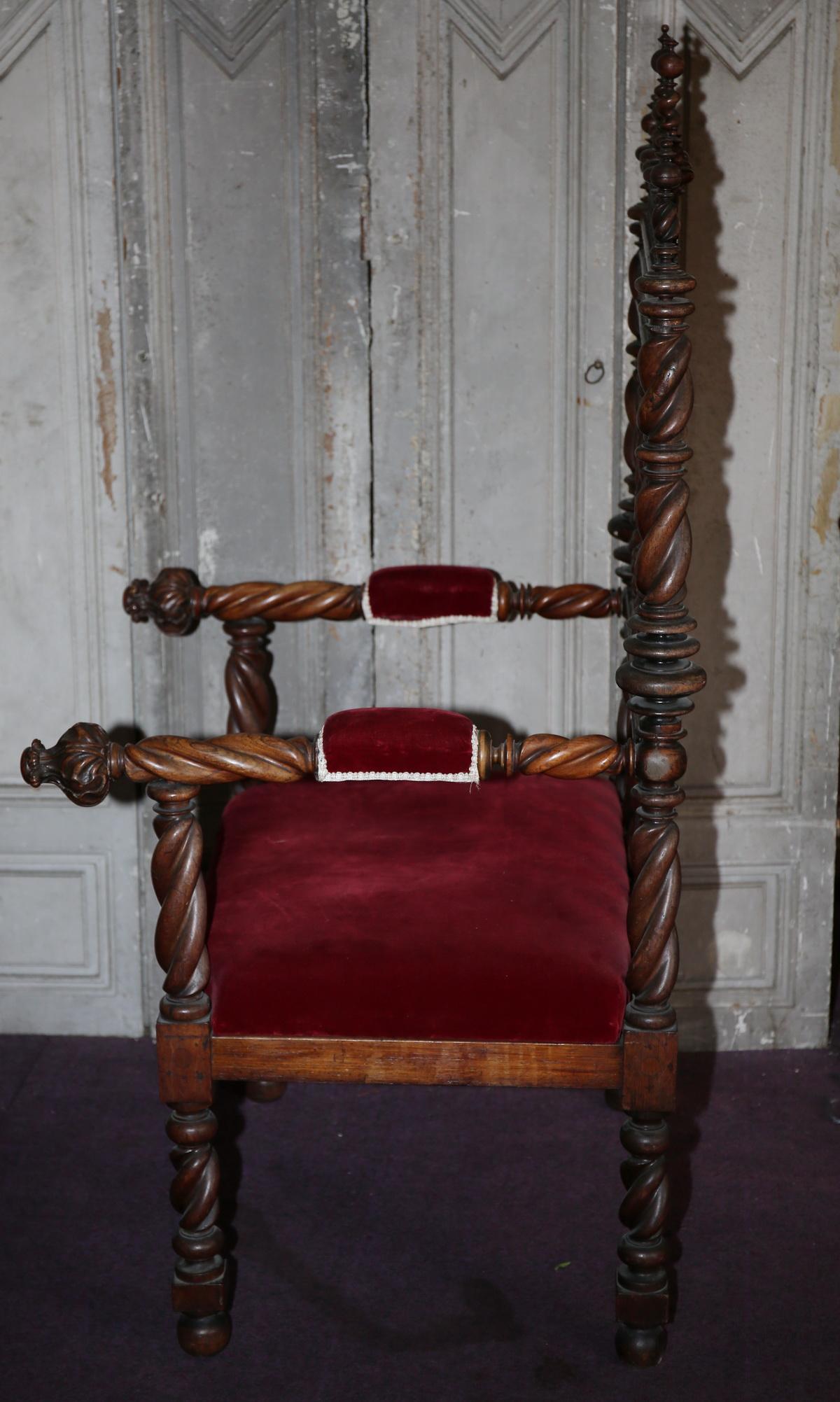 Fauteuil portugais fin XVIII