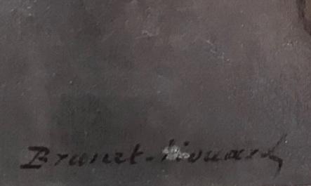 Pierre Auguste BRUNET HOUARD 1829-1922