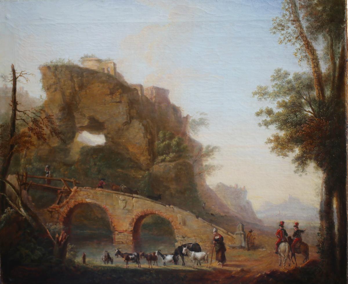 Ecole Hollandaise fin XVIIIème