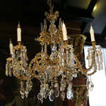 Charles X Baccarat style chandelier