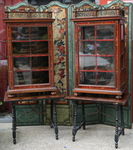 Paire de vitrines Espagne XVIIème