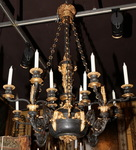 Bronze Chandelier Restoration Period