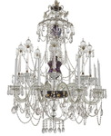 Crystal chandelier of La Granja circa 1940