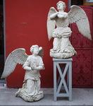 Paire d'anges XVIIIème