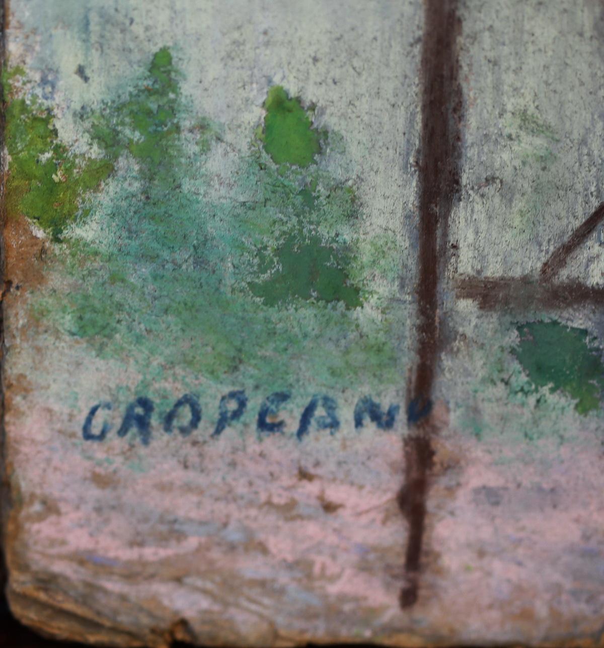 Nicolae GROPEANU 1864-1936 Ecole Roumaine