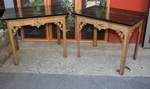 Pair of tables consoles England end XVIII