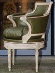 Fauteuil de bureau style Louis XVI début XX