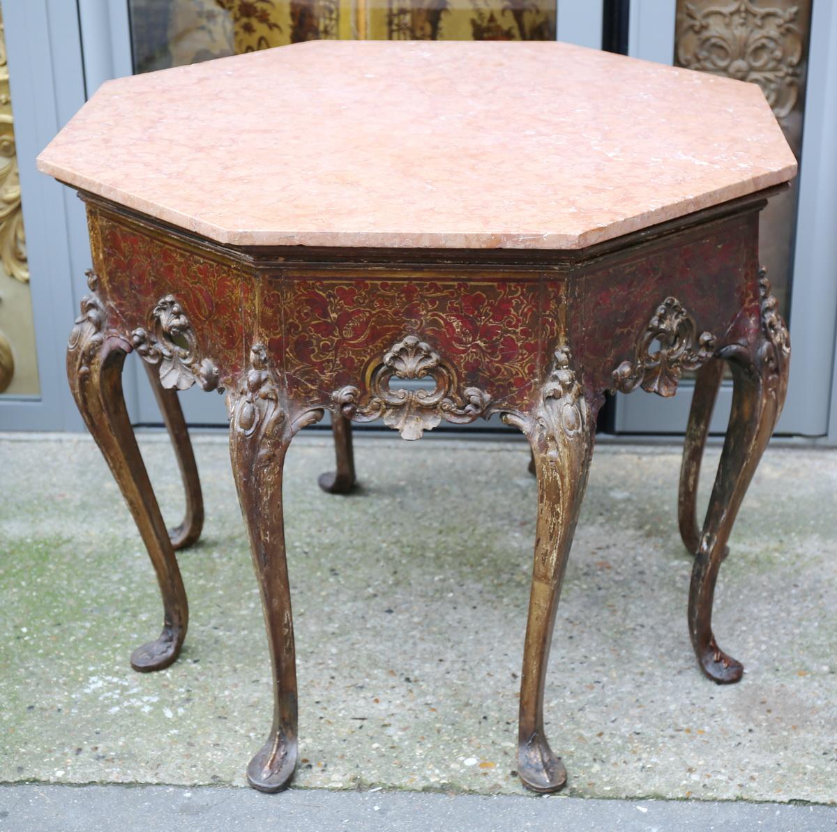 Table hexagonale Italie XIX ème